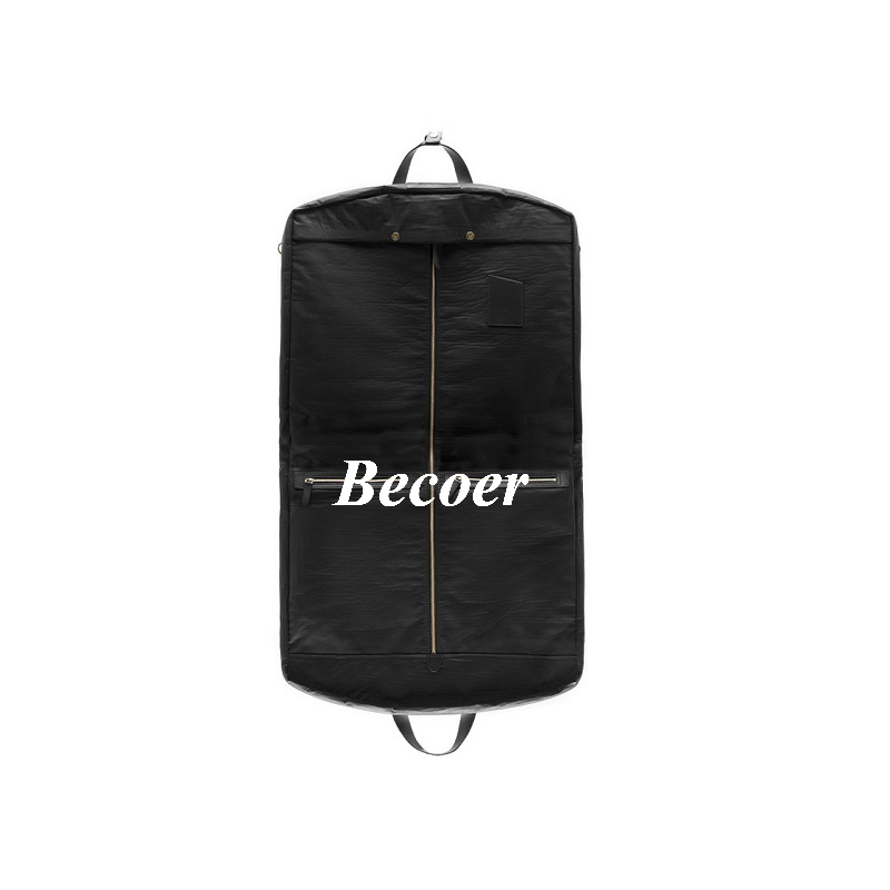 leather suit travel bag