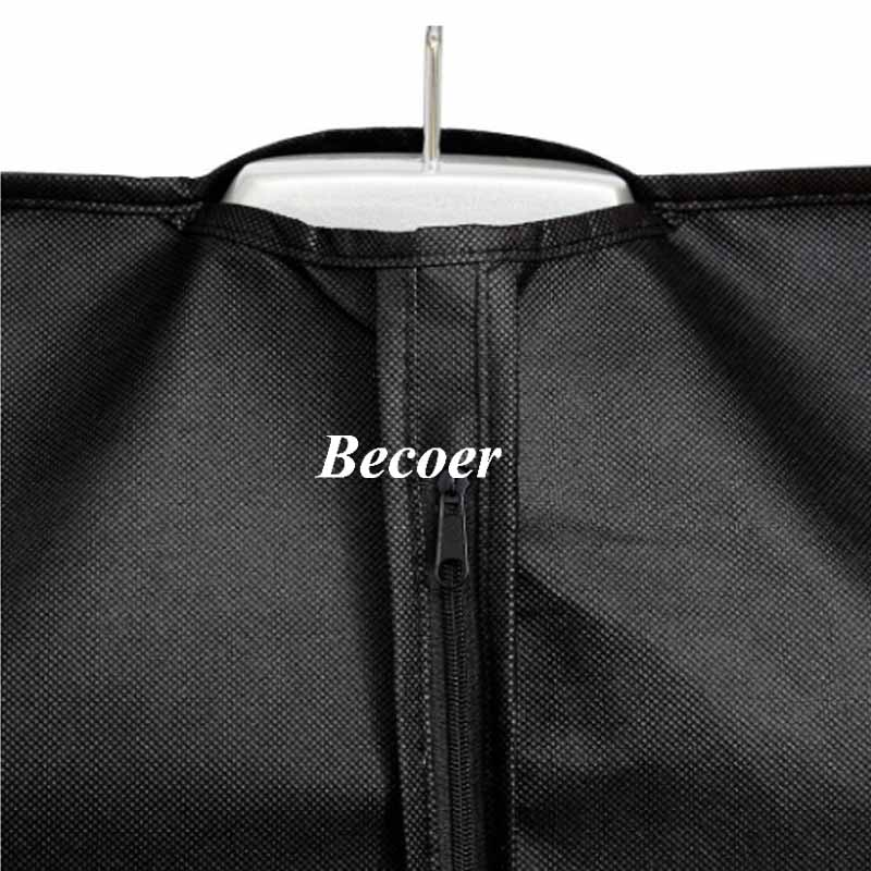 garment bag with metal eyelet